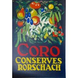 CORO CONSERVES RORSCHACH...