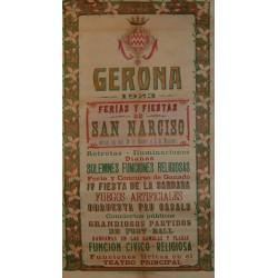 FERIAS Y FIESTAS GERONA 1923