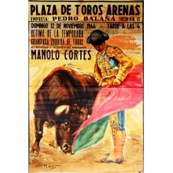 PLAZA TOROS ARENAS 1944 HOMENAJE MADRE DE MANOLO CORTES