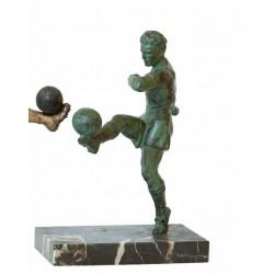 FOOTBALL. BRONZE Ca. 1940