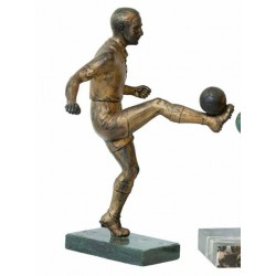 FOOTBALL. BRONZE Ca. 1920