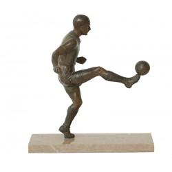 FOOTBALL. BRONZE. Ca. 1930