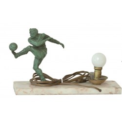 SOCCER. TABLE LAMP. Ca. 1950