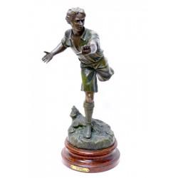 FOOTBALL. ANTIMOINE. AU BTU DE X. RAPHANEL. Ca 1910