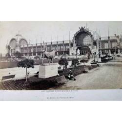 PARIS, LE PALAIS DU CHAMP DE MARS. EXP. UNIVERSELLE DE 1878