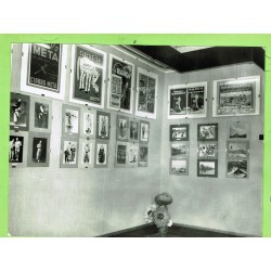 PHOTOREPORT OF THE EXHIBITION OF CIRCUS POSTERS. 1968. JOSEP VINYES COLLECTION