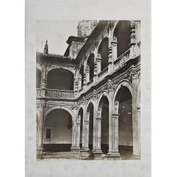 SALAMANCA. PATIO DEL COLEGIO DE SANTIAGO, DE BERRUGUETE. CHARLES CLIFFORD. 1858