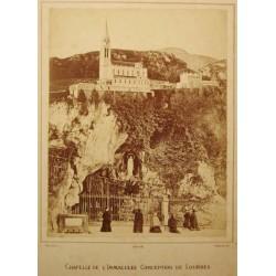 ,LOURDES, CHAPELLE DE L'IMMACULÉE CONCEPTION DE LOURDES. PROVOST