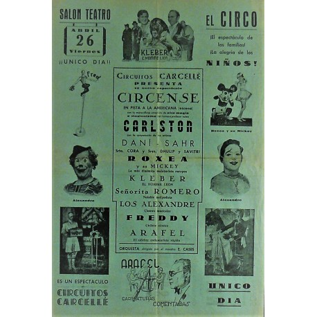 EIBAR. 26/04/1940. CI.RCO CARCELLE-CARLSTON