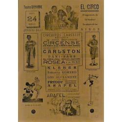 PAMPLONA (NAVARRA) 24/04/1940. CIRCO CARCELLE-CARLSTON