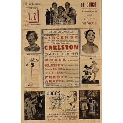 SANTANDER 1-2/05/1940. CIRCO CARCELLE-CARLSTON