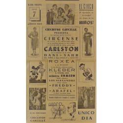 PALENCIA 7/05/1940. CIRCO CARCELLE-CARLSTON