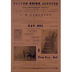 JACA (ARAGON) 29-12-1939. ILUSIONISTA SUIZO C. B. CARLSTON / RAY-BEL