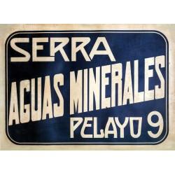 SERRA AGUAS MINERALES. PELAYO 9