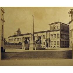 ROMA, PLAZA DE MONTE-CAVALLO Y PALACIO DEL QUIRINAL