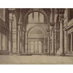 ROMA. Sala nelle terme di Caracalla - Les Thermes de Caracalla