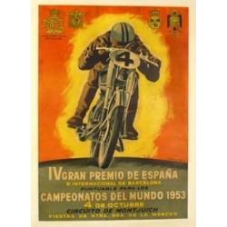 IV GRAN PREMIO DE ESPAÑA 1953 y X INTERNACIONAL DE BARCELONA. CAMPEONATOS DEL MUNDO 1953