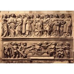 VALLADOLID, BERRUGUETE.FRAGMENTS DE STALLES DE CHOEUR (AU MUSÉE DE VALLADOLID) LAURENT, Phot.
