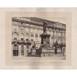 VIENA, MOMUMENT DE L'EMPEREUR FRANÇOIS I. FRANKENSTEIN von , Phot.
