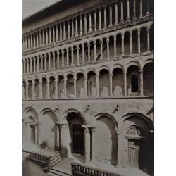AREZZO (ITALIA) Chiesa dela Pieve.La facciata. (Marcohionne Arcoharentino)