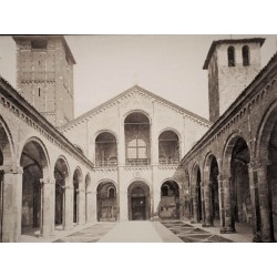 MILANO, Chiesa di San Ambrogio fondata nel 387