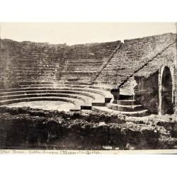 NAPOLI. POMPEIA, Théàtre comique (Musique) fouilles 1766