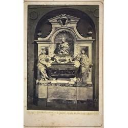 FIRENZE, Chiesa di S. Croce. Tumba di Galileo. ALINARI Phot.
