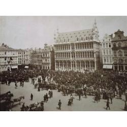 BRUXELLES, La Maison du Roi (Pláce de Hôtel de Ville) N.D. Phot.