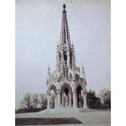 BRUXELLES-Laeken, Le Monument de Lèopold I. N.D. Phot