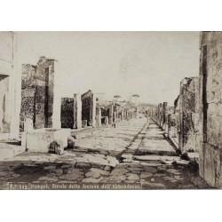 NAPOLI, Veduta generale di Pompei