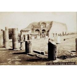 NAPOLI, Teatro tragico di Pompei.