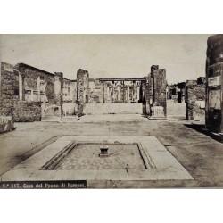 NAPOLI, Casa del fauno di Pompei.