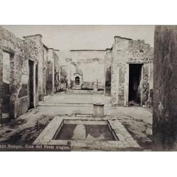 NAPOLI, Pompei. Casa de Poeta tragico