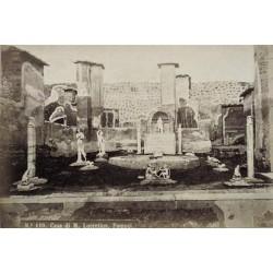 NAPOLI, Pompei. Casa di M. Lucretius