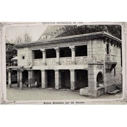 PARIS, Exp. Universelle de 1889. Maison Byzantine par Ch. Garnier. N.D. Phot.