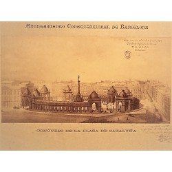 BARCELONA, CONCURSO DE LA PLAZA DE CATALUÑA