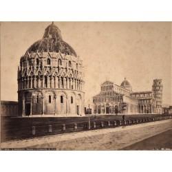 PISA, (ITALIA) Battisterio. Duomo e Campanile. ROBERT RIVE Phot.