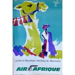 AIR AFRIQUE ESCALE EN REPUBLIQUE ISLAMIQUE DE MAURITANIE /