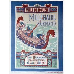 MILLENAIRE NORMAND . VILLE DE ROUEN /