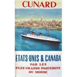 CUNARD ETATS-UNIS & CANADA. /