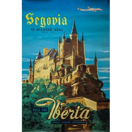 SEGOVIA EL ALCAZAR REAL. IBERIA