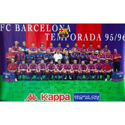 F.C. BARCELONA TEMPORADA 95-96