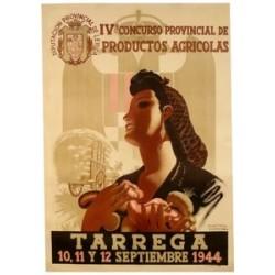 TARREGA FERIA PRODUCTOS AGRICOLAS 1944 (LLEIDA)