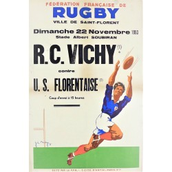 FEDERATION FRANÇAISE DE RUGBY (Football) R.C. VICHY - U.S. FLOREMTAISE /
