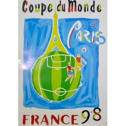 COUPE DU MONDE DE FOOTBALL. FRANCE 1998 COLLECTION COMPLÈTE (11 AFFICHES)