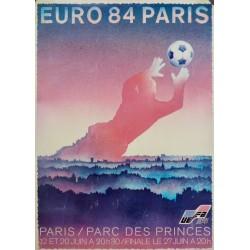4 CARTELES EURO 84 (COPA DE EUROPA DE FUTBOL)