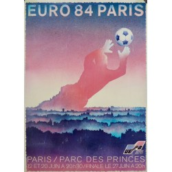 4 POSTERS. EURO 84 (FOOTBALL EUROPE CUP)