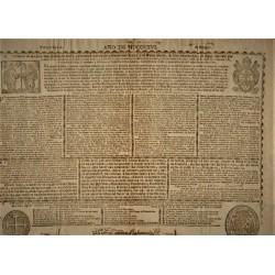 BULL FOR THE KINGDOM OF ARAGON. YEAR OF MDCCCXVI (1816)