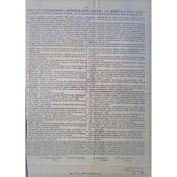 APOSTOLIC INQUISITORS. SEVILLE 1789. INDEX LIBRORUM PROHIBITORUM