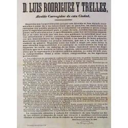 LUIS RODRIGUEZ. ALCALDE. BARCELONA 1867. CARRUAJES